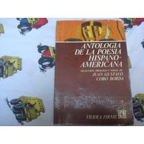 Juan Gustavo Cobo Borda, Antología De La Poesía Hispanoameri