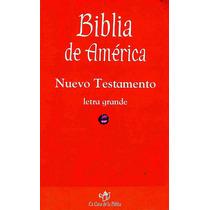 Libro: Biblia De Amèrica Envío $30 Ok