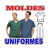 Kit Uniformes Medicos Odontologo Enfermeros Kit Moldes 2016