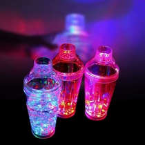 Coctelera Luminosa Led Shaker Bar Trago Bartender Drinks