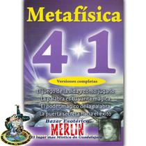Libro Metafísica 4 En 1 - Florence Scovel - 637 Páginas