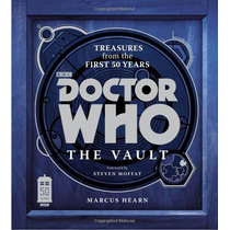 Libro Doctor Who: The Vault Tesoros De Los 1ros 50 Años!!