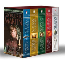 Game Of Thrones Box Set De 5 Libros - George R. R. Martin