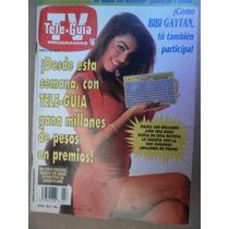 Bibi Gaytan Sexy Foto En Portada Teleguia Mexico 1992