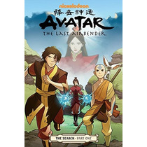 Comics Avatar: The Last Airbender: The Search, Partes 1-2-3!