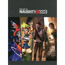 Libro De Arte The Art Of Naughty Dog P Dura De Coleccion!