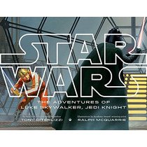 Libro Star Wars The Adventures Of Luke Skywalker, Jedi Knigh