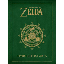 Libro Legend Of Zelda Hyrule Historia Español