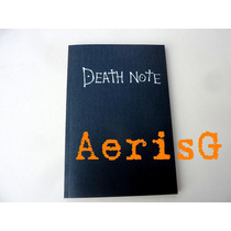 Arg Impresionante Libreta Death Note Reglas Español Anim Au1