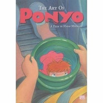 Libro De The Art Of Ponyo - Nuevo