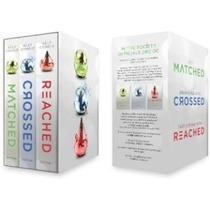 Matched Trilogy Box Set 3 Libros Pasta Dura - Nuevo