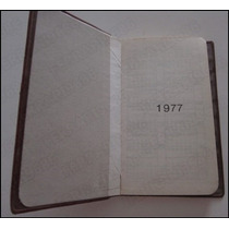 Agenda Del Abogado Con Directorio Legal / Vintage 1977