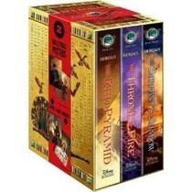 Libros De The Kane Chronicles Box Set En Pasta Dura - Pb!