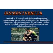 Pack Libros Supervivencia,defensa Personal,primeros Auxilios