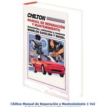 Chilton. Manual De Reparación Y Mantenimiento Oceano