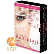 El Arte Del Maquillaje Paso A Paso 3 Vols + 1 Cd Rom Fn4