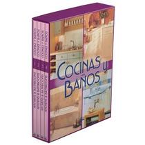 Biblioteca De Cocinas Y Baños 4 Vols + 1 Cd