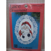 Kit Navideño Para Punto De Cruz Lace Ornament