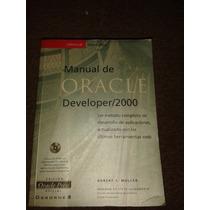 Libro: Manuel Oracle 2000