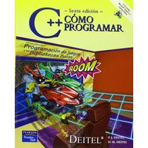 Libro Digital C++ Como Programar 6ta Edicion Deitel