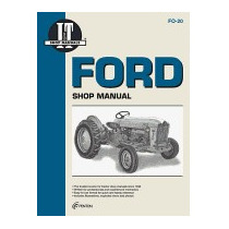 Ford Shop Manual Series 501 600 601 700, Haynes Manuals Inc