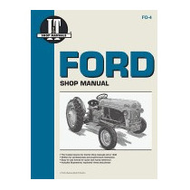 Ford Shop Manual Series 2n 8n & 9n, It Shop Service