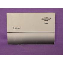 2006 Chevrolet Equinox Owner Manual, General Motors.