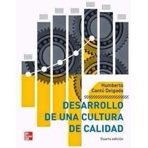 Libro: Desarrollo De Una Cultura De Calidad Pdf