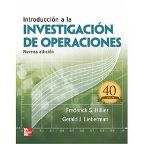 Investigación De Operaciones Pdf