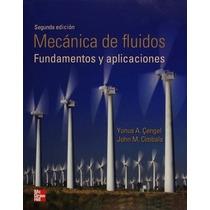 Libro Mecánica De Fluidos De Yunus Cengel