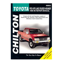 Toyota Pick-ups, Land Cruiser, And, Chilton Automotive Books