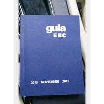 Libro Azul Guia Ebc De Noviembre 2015