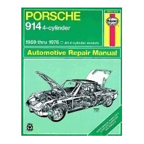 Libro Porsche 914 (4-cyl.), 1969-1976, J H Haynes