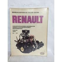 Renault Para El Taller Mantenimiento Y Reparacion 1 Vol