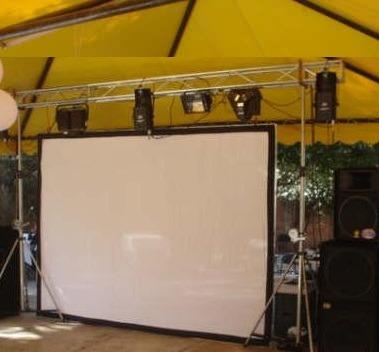 Lienzo Para Pantalla De Video Proyeccion Dual Tl 100