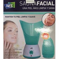 Vaporizador Sauna Facial Nes+regalo/limpia Y Sana Tu Rostro