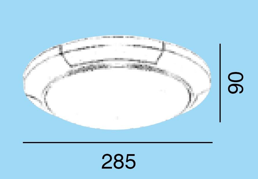 Lamparas Para Medio Baño:Línea Para Baño – Lámpara Circular, Plata Y Oro – $ 37200 en