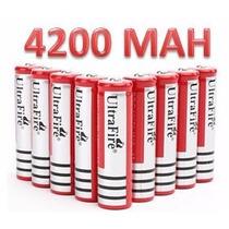 Batería Pila Recargable Tipo 18650 De 3.7v 4200mah