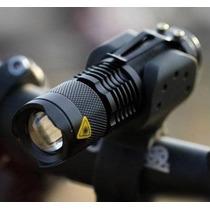 Ultrafire Linterna Led Cree 300 Lumens Soporte Bicicleta