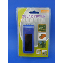 Lampara Solar 3led Color Azul
