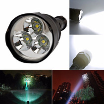 Linterna Led Cree Potente 3 Leds Ultra Fire