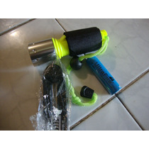 Lampara Buceo Led Sumergible Agua 1600 Lumen Recargable