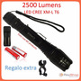 Lampara Tactica 2500 Lumens Cree Led Xm-l T6 Recargable