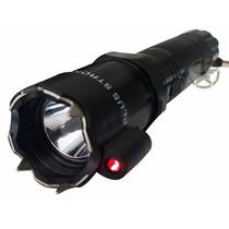 Lampara Con Laser Descarga Electrica Rompe Vidrio Taser Stun