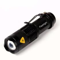 Mini Linterna Led Cree Q5 1600lm Recargable Zoom Watherproof