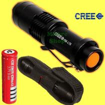 Lampara Led Cree Xm-l T6 2500lm Sumergible 5mts Funda Y Base