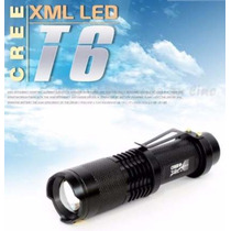 Lampara Tactica Cree Led T6 2500 Lumens Alto Poder + Kit