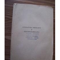 Literatura Mexicana E Hispanoamericana-ma.edm.álvarez-porrúa