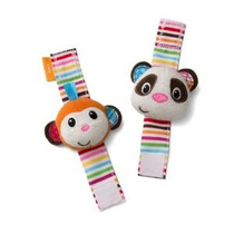 Sonajeros Mono Y Panda Infantino Muñeca
