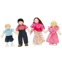 Le Toy Van Mi Familia Juego De 4 Budkin Figuras